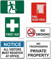 Industial Safety Signs
